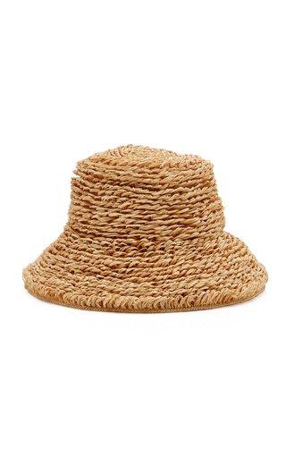 Selma Raffia Bucket Hat