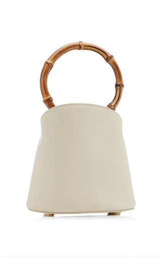 Zenda Leather Top Handle Bag