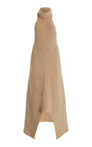 Akiko Knit Maxi Halter Dress