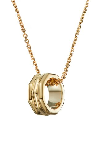 The Lawrence 18K Yellow Gold Diamond Necklace