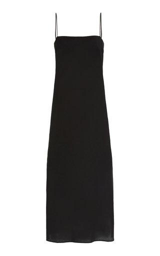 Hemp-Silk Slip Dress