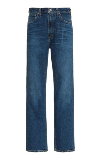 Daphne Stretch High-Rise Stovepipe Jeans