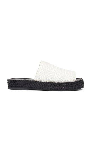 Marie Woven Flatform Sandals