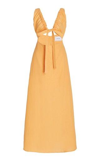 Tobago Cutout Eco-Hemp Maxi Dress