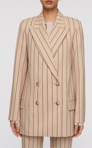 Jonas Striped Wool-Blend Blazer