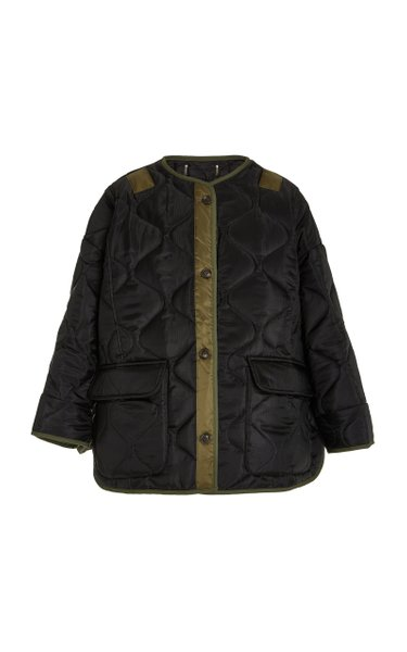 Teddy Oversized Quilted Jacket