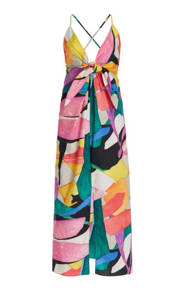 Lolita Printed Organic Cotton Coverup Dress
