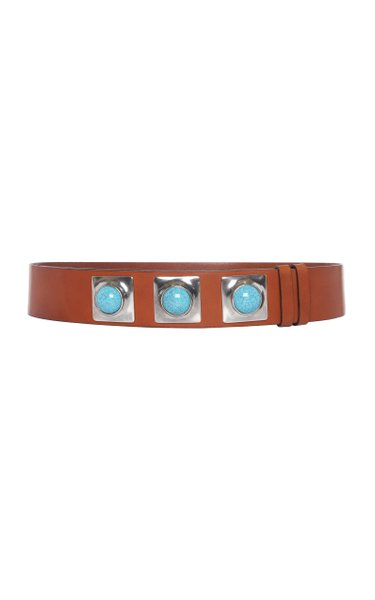 Studded Auction Leather Belt