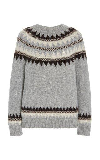 Madelene Fair Isle Knit Sweater