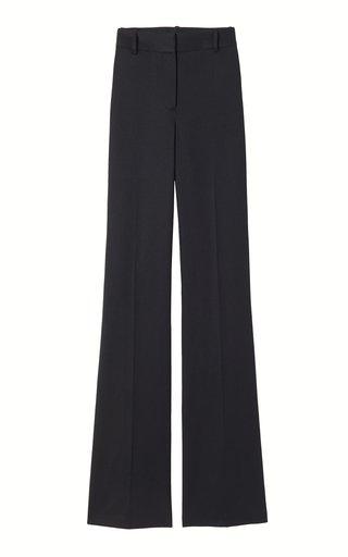 Arielle Wool Flared-Leg Trousers