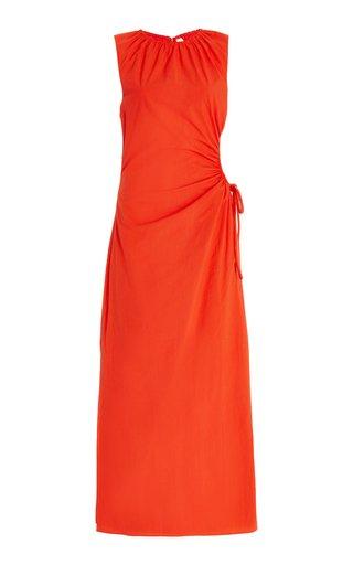 Anja Cutout Cotton Maxi Dress