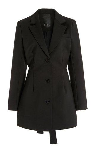 Marco Cotton-Blend Mini Blazer Dress