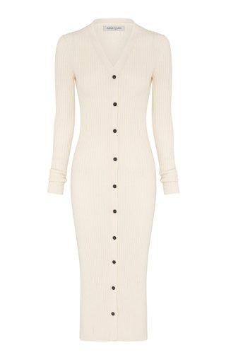 Clarisse Cotton Midi Sweater Dress