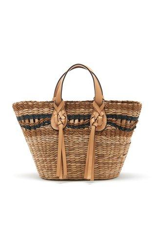 Seaview Day Basket Mini Tote Bag