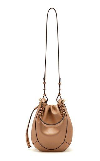 Hilma Leather Bucket Bag