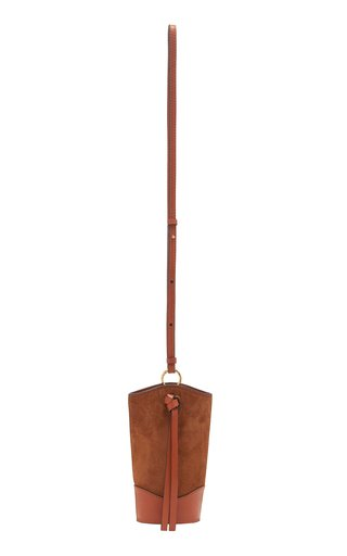 Esme Essential Suede Pouch Bag