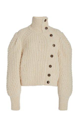 Valerie Alpaca-Knit Cardigan