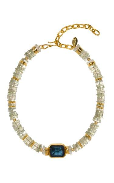 Goddess Quartz Beaded Collar