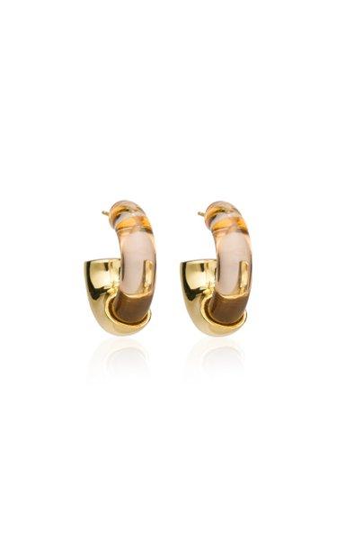Infinity Acrylic Hoop Earrings