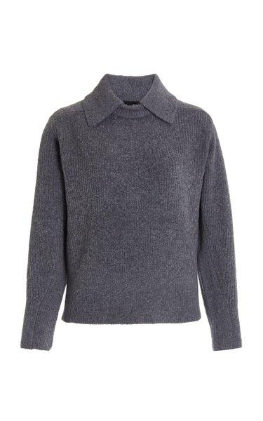 Lofty Ribbed-Knit Sweater