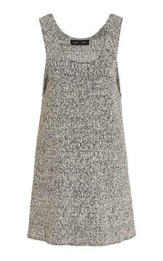 Speckled Boucle Tank Top