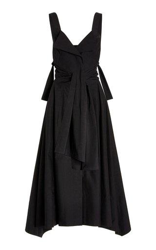 Belted Poplin Tank Dress