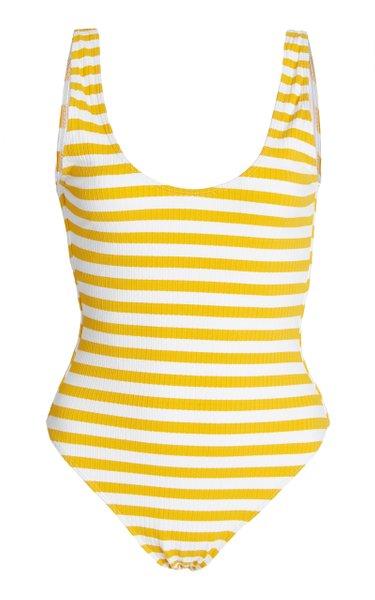 Solene Striped One-Piece Swimsuit