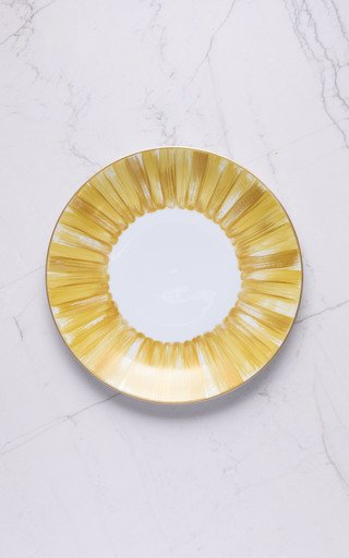 Set Of 2 Dinner Plate Coupe In Panache