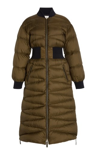 Jermaine Quilted Nylon Puffer Coat