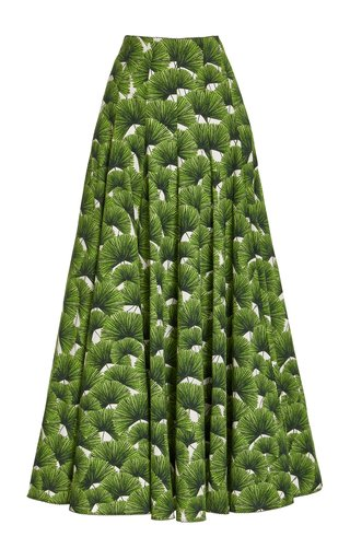 Mimosa Printed Cotton Maxi Skirt