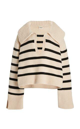 Evi Striped Cashmere Sweater