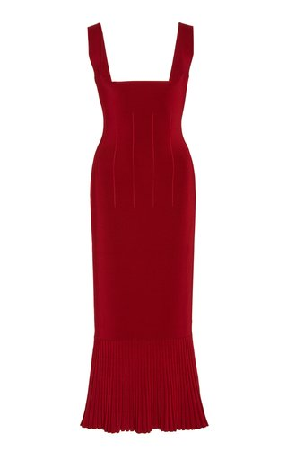 Atalanta Stretch-Knit Midi Dress