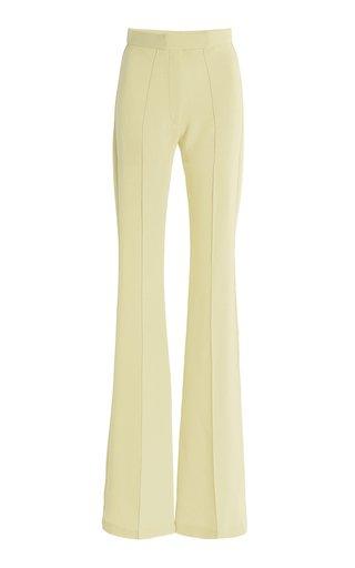 Rene Stretch-Crepe Flared Pants