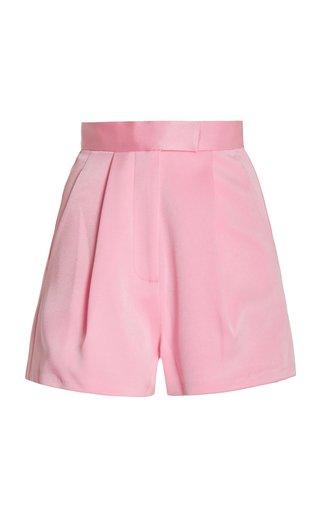 Penn Satin Crepe Shorts