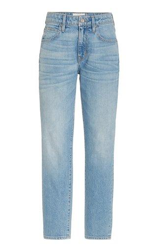 Lou Lou Stretch Mid-Rise Cropped Slim-Leg Jeans