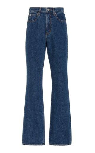 Charlotte Rigid High-Rise Slim Bootcut Jeans