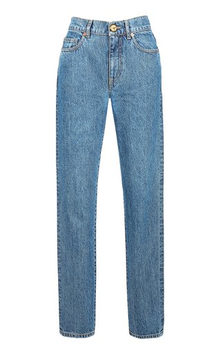 Nariida Cob Straight-Leg Jeans