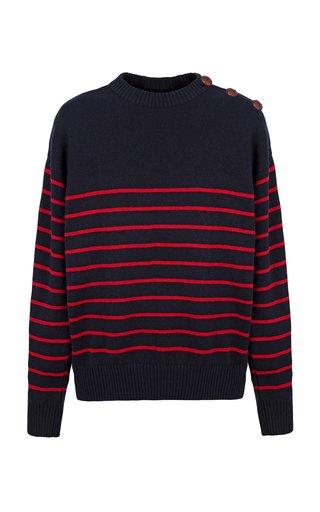 Maglione Breton Striped Cashmere Sweater