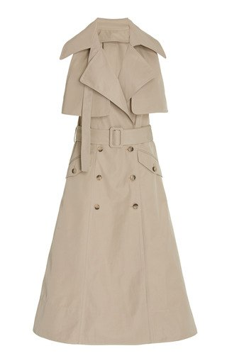 Convertible Woven Trench Coat