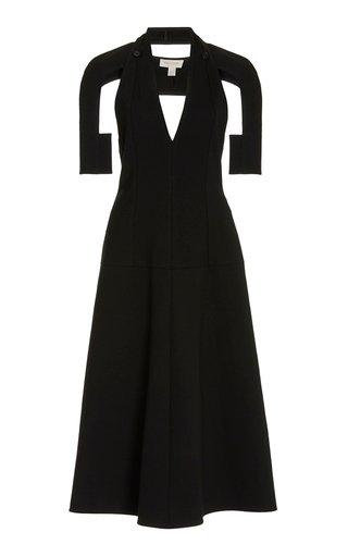 Two-Piece Woven Midi Dress