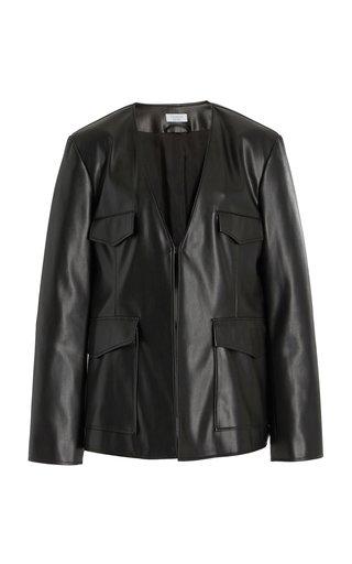 Freyja Faux Leather Jacket