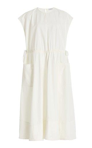 Daisy Cotton-Blend Midi Dress