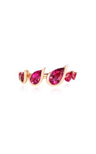 Flicker 18K Rose Gold Rubellite Ring