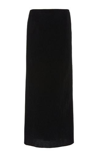 The Rey Crepe Midi Skirt