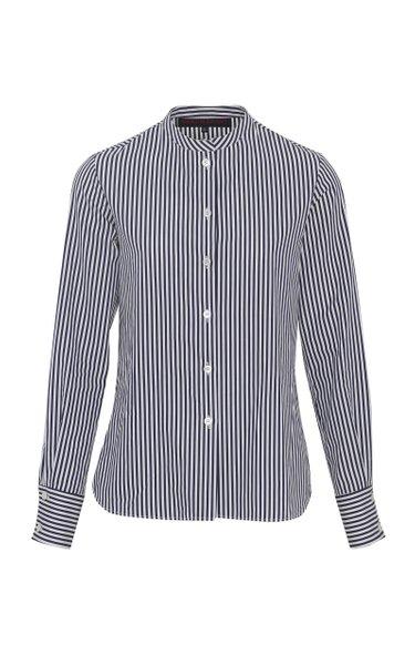 Classic Striped Cotton Shirt