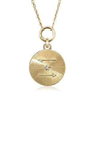 18K Yellow & White Gold Silk Talisman Charm