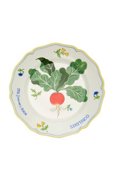 Set-Of-2, Personalized Isla Simpson For Moda Domus Dinner Plates