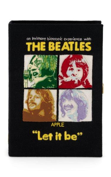 Beatles Let It Be Book Clutch