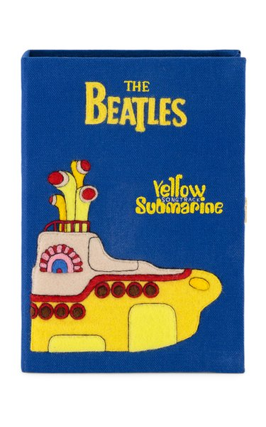 Beatles Yellow Submarine Book Clutch