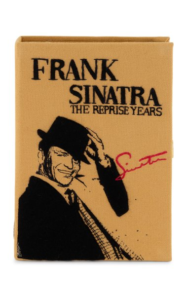 Sinatra The Reprise Years Strapped Book Clutch